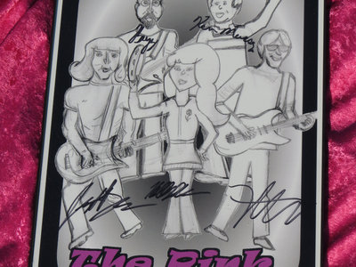 """""""Punk, It's Alright"""" Autographed Framed Cartoon Poster main photo"""