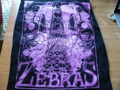 Zebras Purple Obelisk T-Shirt main photo