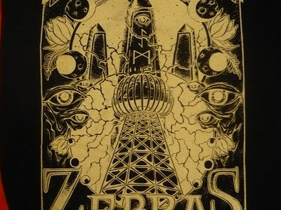 Zebras Gray Obelisk T-Shirt main photo