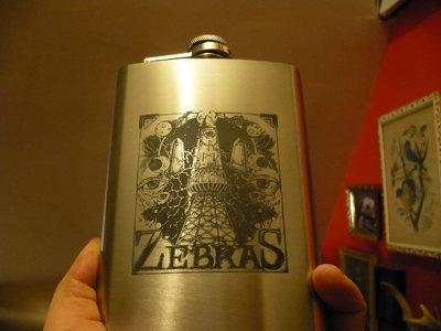 Zebras Stainless Steel Flask main photo