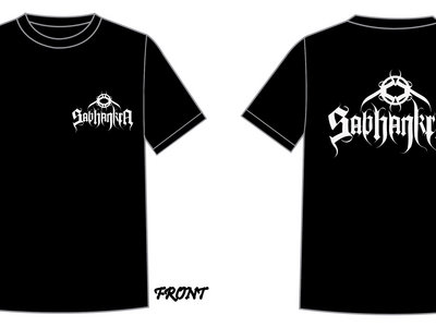 NEW !!! Sabhankra Logo T-shirt 2 (Front/Back) main photo