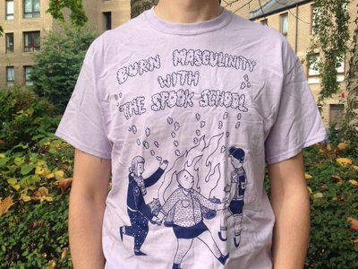 Burn Masculinity Lilac T-Shirt main photo