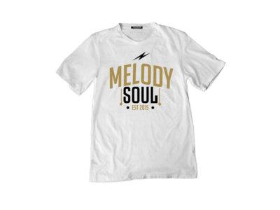 MelodySoul Logo White T-Shirt (w/ free DL) main photo