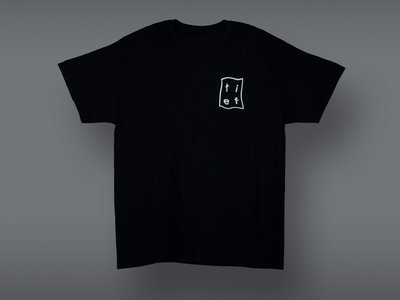'Dancing from Corsica..' Short sleeve tee, black main photo