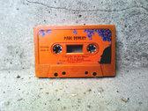 "Limited Edition Pumpkin-Orange ""Howlin' At the Moon"" Halloween Cassette Tape Single photo"