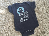Baby Onesie w/ Blue Moon All Stars Bear Logo + album download! photo