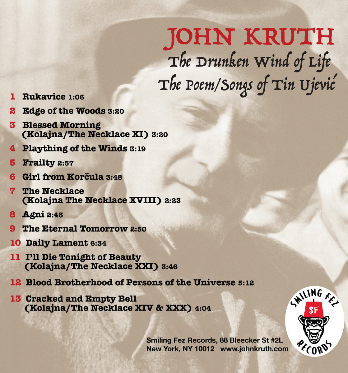 The Drunken Wind of Life | John Kruth