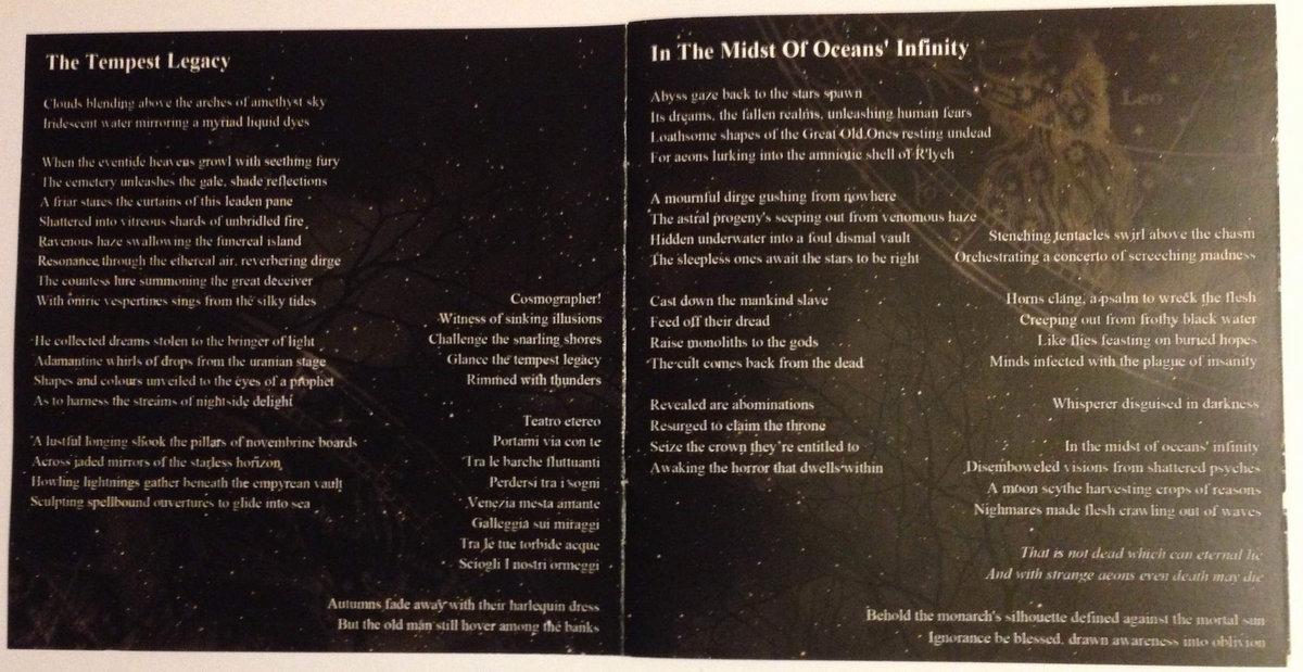 Lyric illusions lyrics : Celestial Breed, Treacherous Blood | Crafter Of Gods