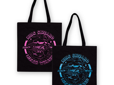 King Gizzard and the Lizard Wizard tote bag main photo