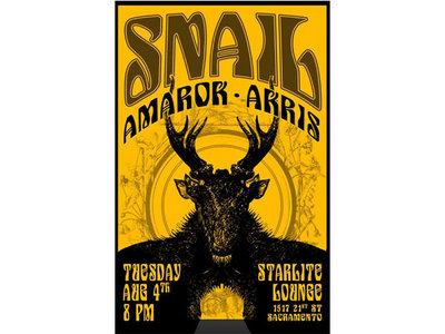 August 4th 2015 Sacramento Tour Poster main photo