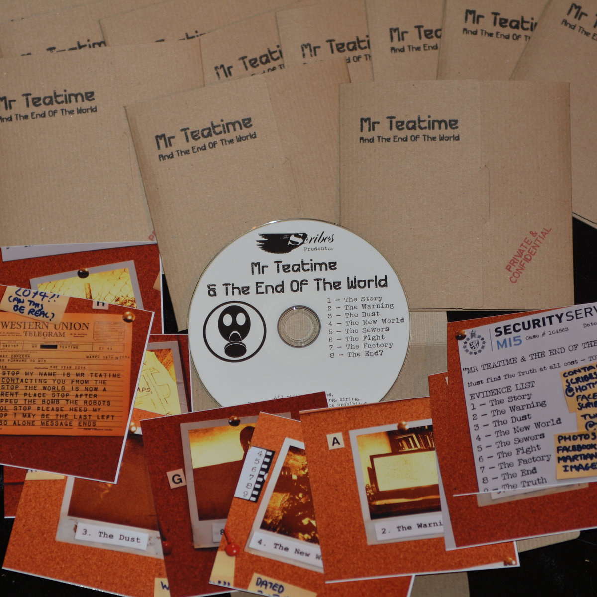 Mr Teatime And The End Of The World (Limited Edition CD)   The Scribes