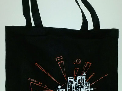 The Frayed Laces logo tote bag main photo