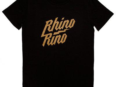 Rhinorino T-shirt Black-Gold main photo