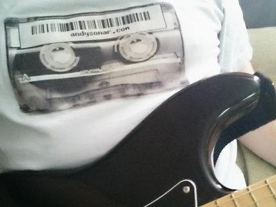 andysonar.com cassette T-shirt main photo