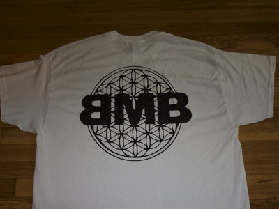 White BMB Flower of Life T-Shirt main photo