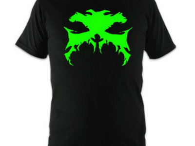 Black Tshirt With GREEN Hefty Logo main photo