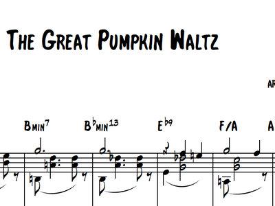 Christmas Waltz Chords.The Great Pumpkin Waltz Aliocha Thevenet