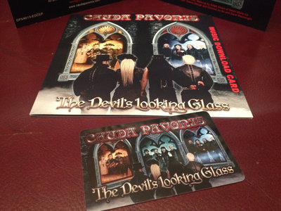 The Devil's Looking Glass Download Card (Presentation sleeve) main photo