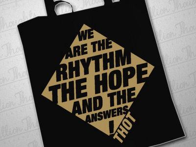 // Rhythm.Hope.Answers Totebag (NEW) main photo