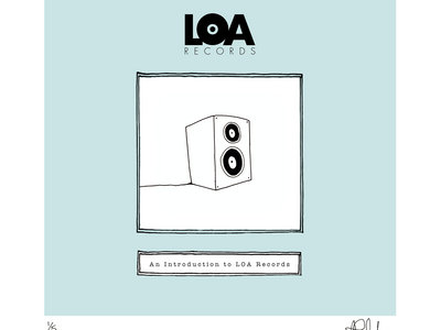 An Introduction To LOA Records - Limited Edition HAND DRAWN, SIGNED & NUMBERED 'SPEAKER' Print main photo