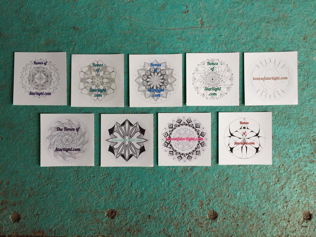 9-Mandala Story Portal Sticker Set | Eva L  Elasigue