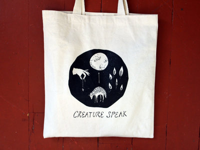 "LIMITED EDITION ""CREATURE SPEAK"" TOTE BAG main photo"