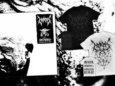 "Bundle: CD ""Devianz"" + Male T-Shirt ""Sigil"" main photo"