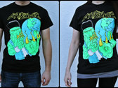 "Shirt ""Cthulhu Rise"" BLACK photo"