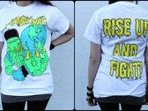 "Shirt ""Cthulhu Rise"" WHITE photo"