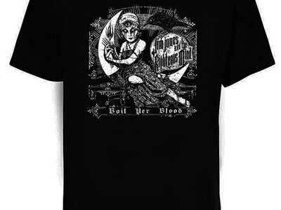 Boil Yer Blood T-shirt (black) main photo