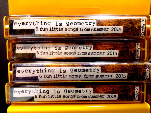 six fun little songs from summer 2015 | everything is geometry