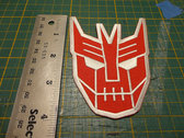 The Cybertronic Spree Iron-On Patch photo