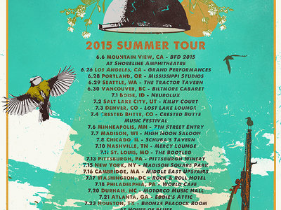 2015 Summer Tour | Limited Edition Poster main photo