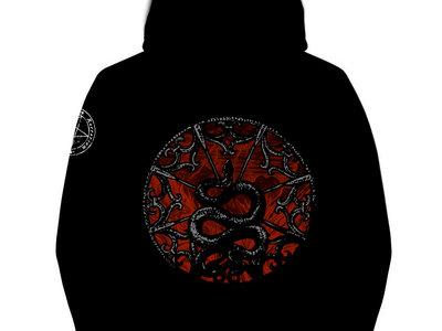 Paracletus - Quality Full zip Hoodie (280gr) - Black main photo