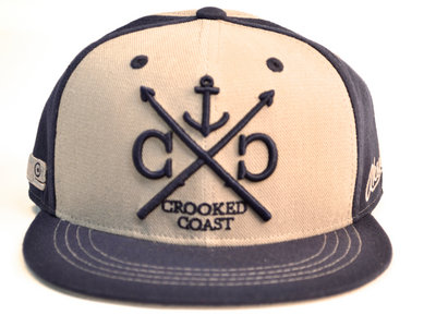 Crooked Coast Blue and Grey Snapback by Aksels main photo