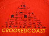 Pyramid Print Crew Neck photo
