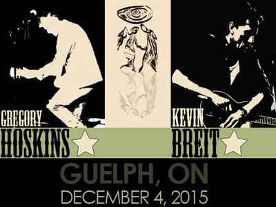 Ticket to Dublin United, Guelph, December 4, 2015 main photo