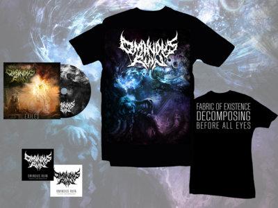 """HALLUCINATIONS"" T-shirt & EXILED EP Bundle main photo"