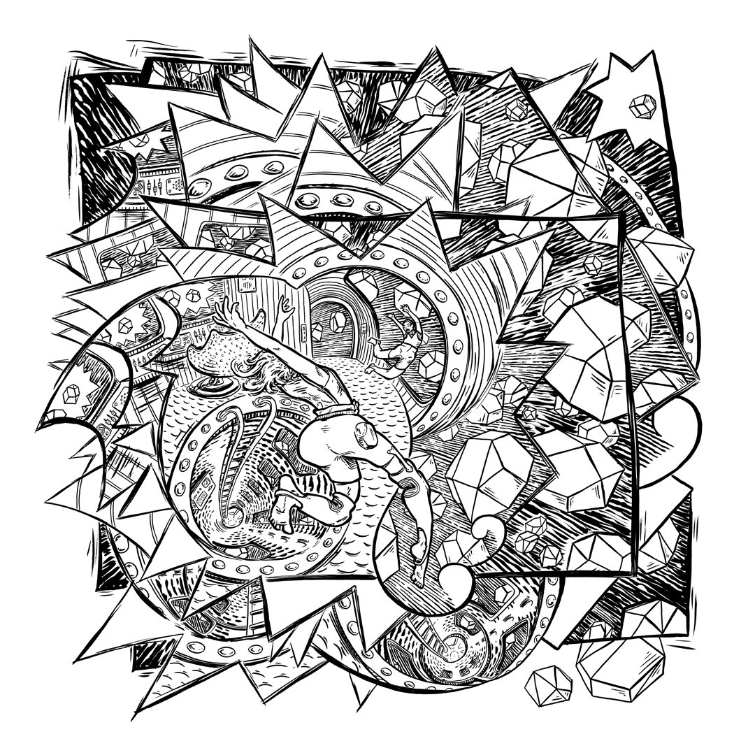 The coloring book full album - A Beautiful 32 Page 11x11 Comic Book Including Album Lyrics Black White Illustrations To Match Each Of 16 Album Tracks Includes Unlimited Streaming Of