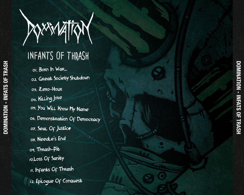 Lyric domination lyrics : Infants Of Thrash | DOMINATION