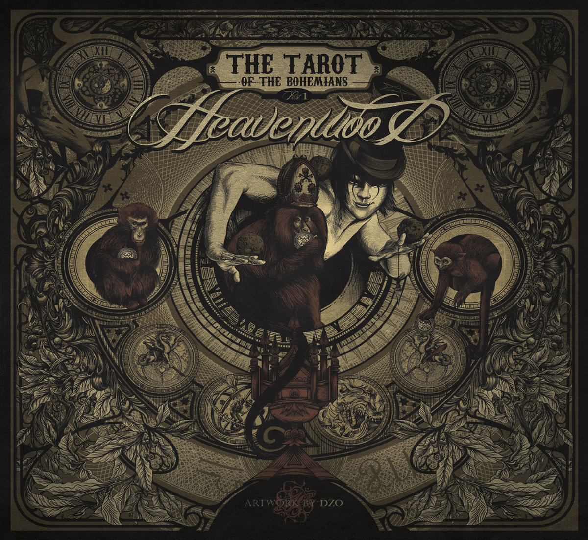 Heavenwood the tarot of the bohemians raising legends package image buycottarizona