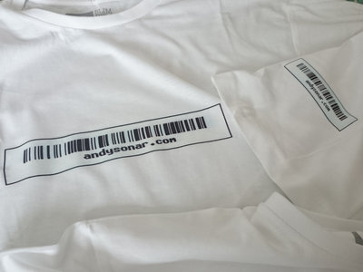 Sonar Barcode T shirt main photo