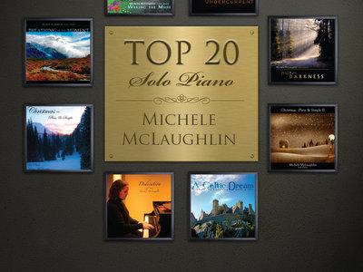 Top 20 - Solo Piano (Printed Songbook) | Michele McLaughlin
