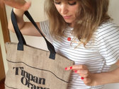 Tinpan Market Bag - 100% Jute photo