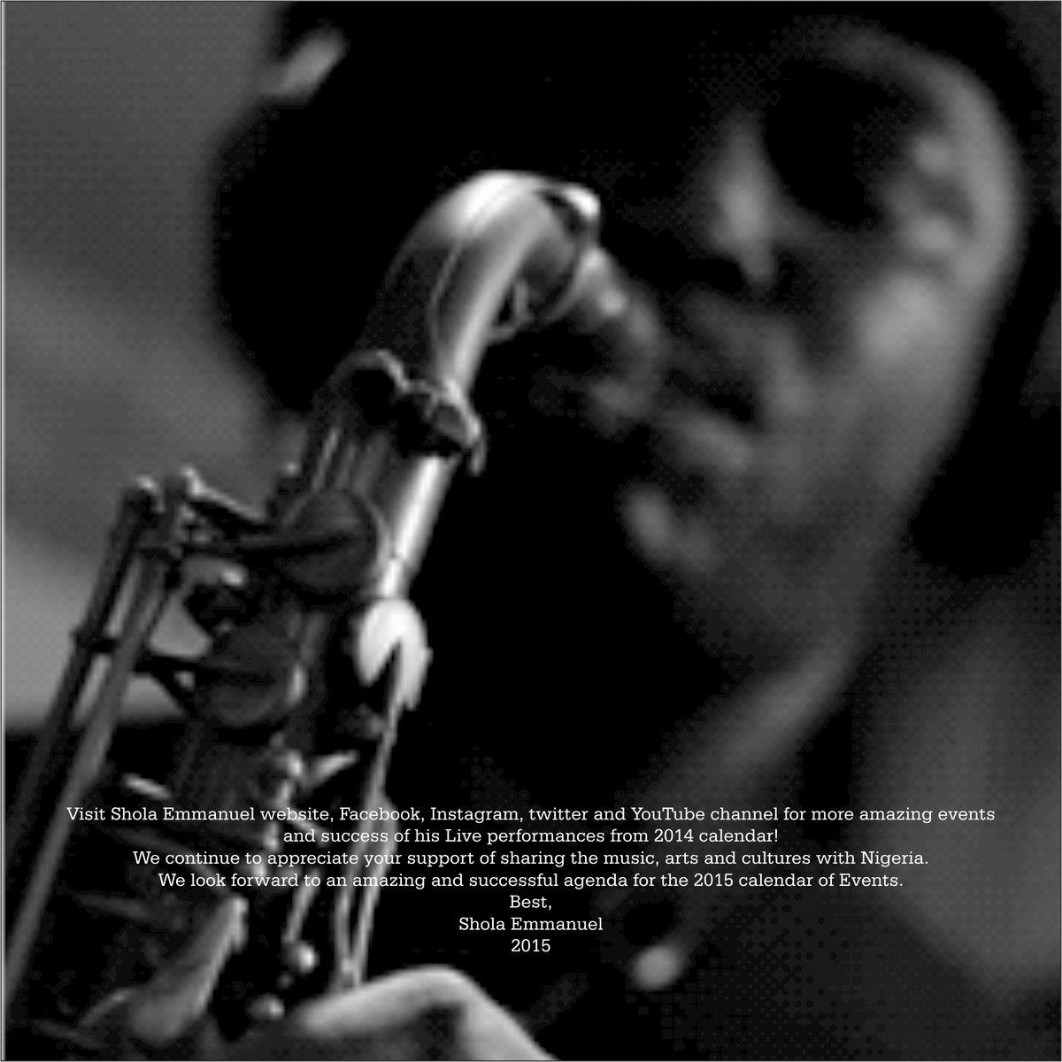 Rhythm & Sax | Shola Emmanuel