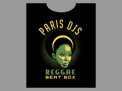 "Paris DJs ""REGGAE BEAT BOX"" - Limited edition T-shirt main photo"