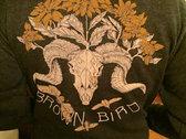 Feisty Ink Brown Bird Hoodie photo