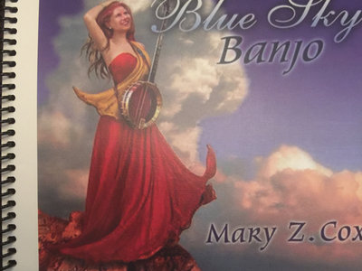 Blue Sky Banjo Tab Book | Mary Z Cox