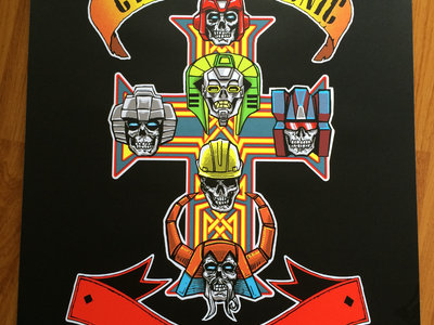 The Cybertronic Spree - TFCon Print by Tim Doyle main photo