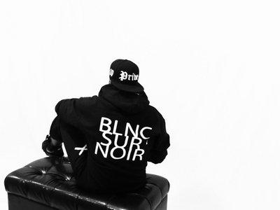 ✖ Privé Apparel ✖ #BlncSurNoir zip down hoody main photo